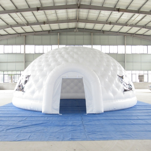 Igloo gonflable 50 pieds