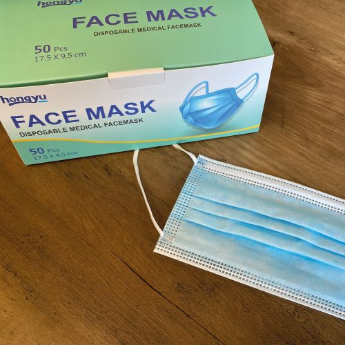 Masque jetable - Bleu (Médical Grade1)