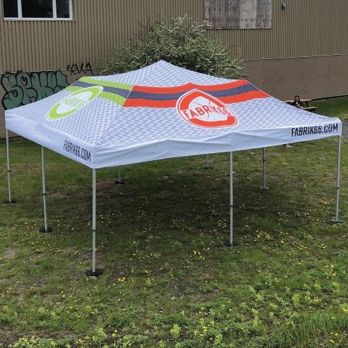 Tente popup 20X20 | Fabrik & co