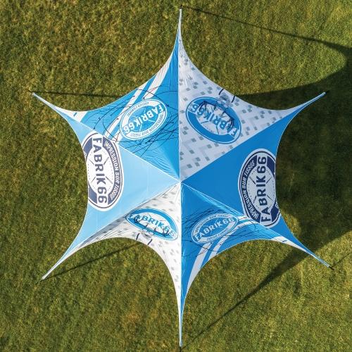 TOIT - TENTE STAR IMPRIMÉE 53X53 | Fabrik & co