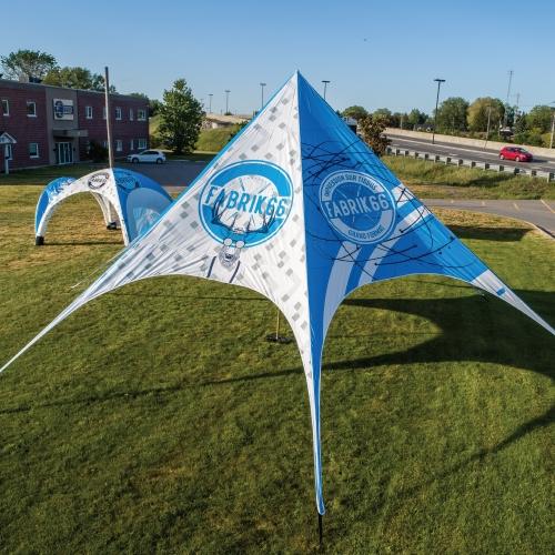 Tente Star 53x53 | Fabrik & co